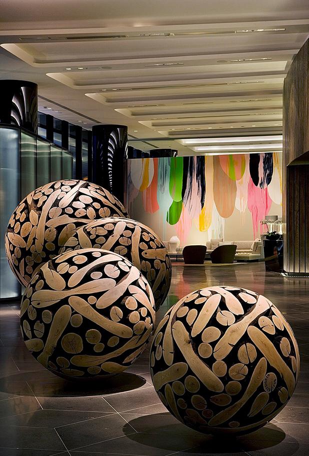 Big artistic balls