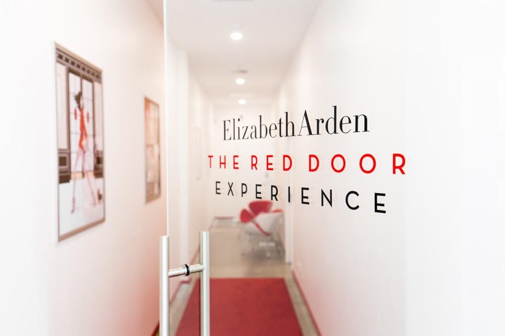 The luxe Elizabeth Arden Boutique
