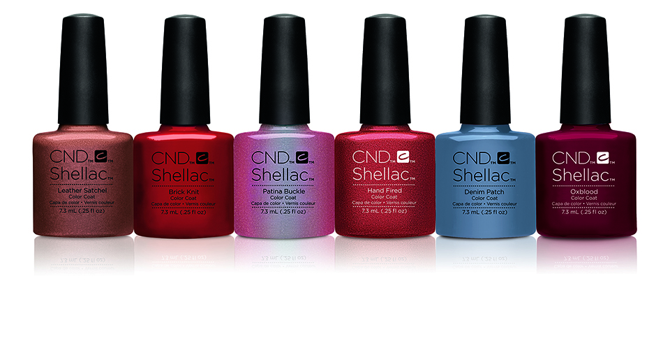 The latest shades from CND Shellac Craft Culture collection.