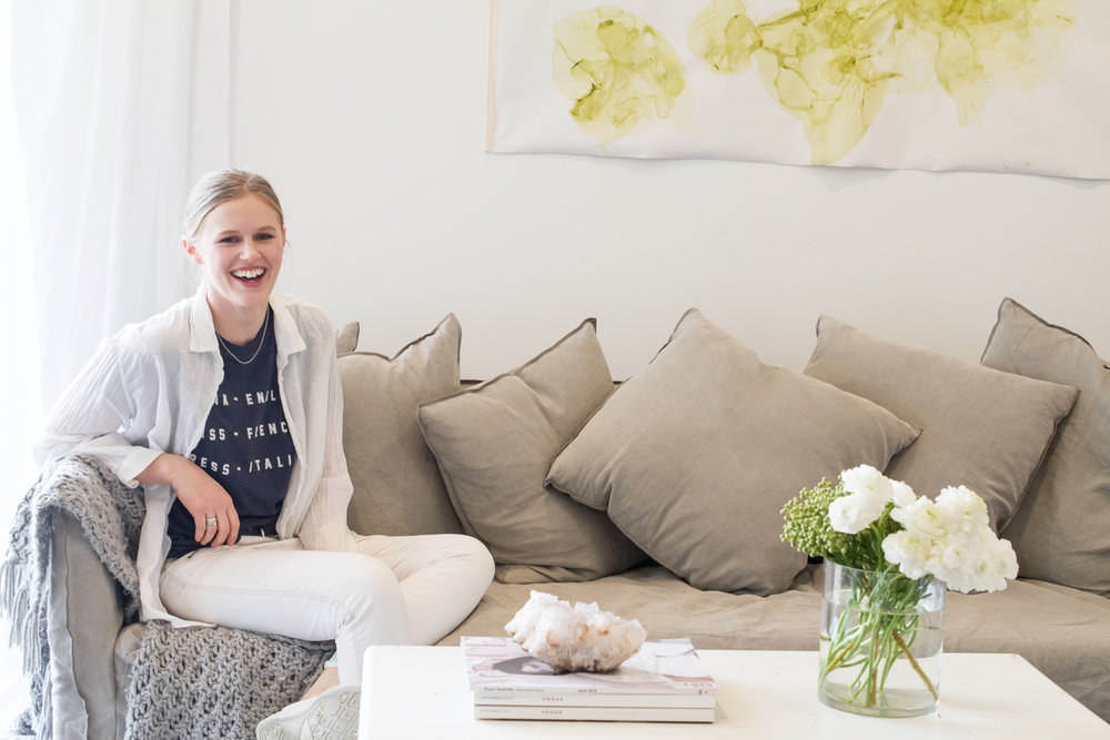 Amy Todd at home