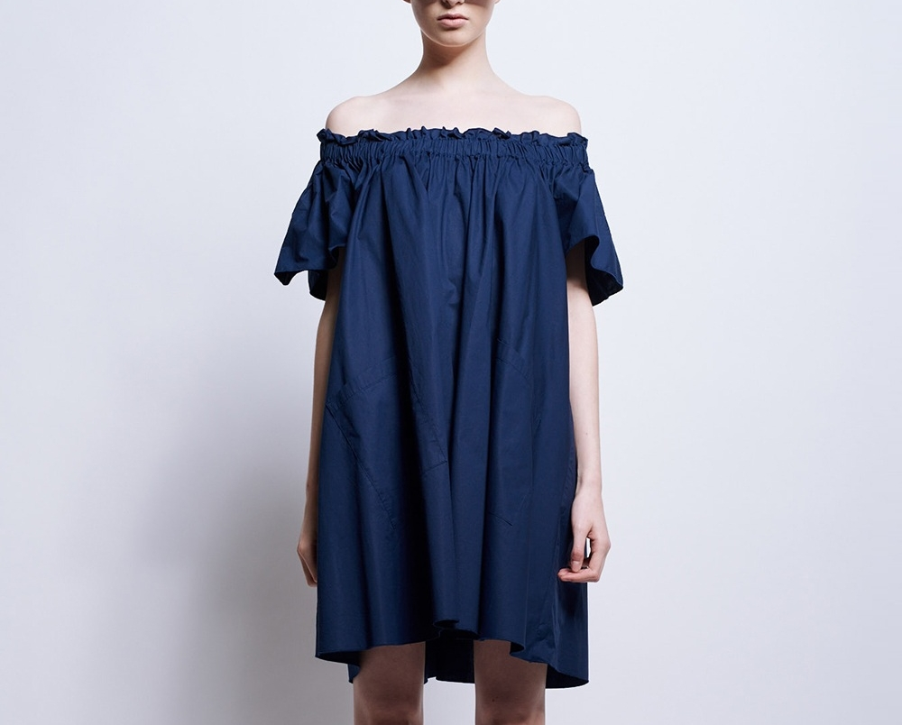 caspe-gathered-dress-41694-navy-front.jpg