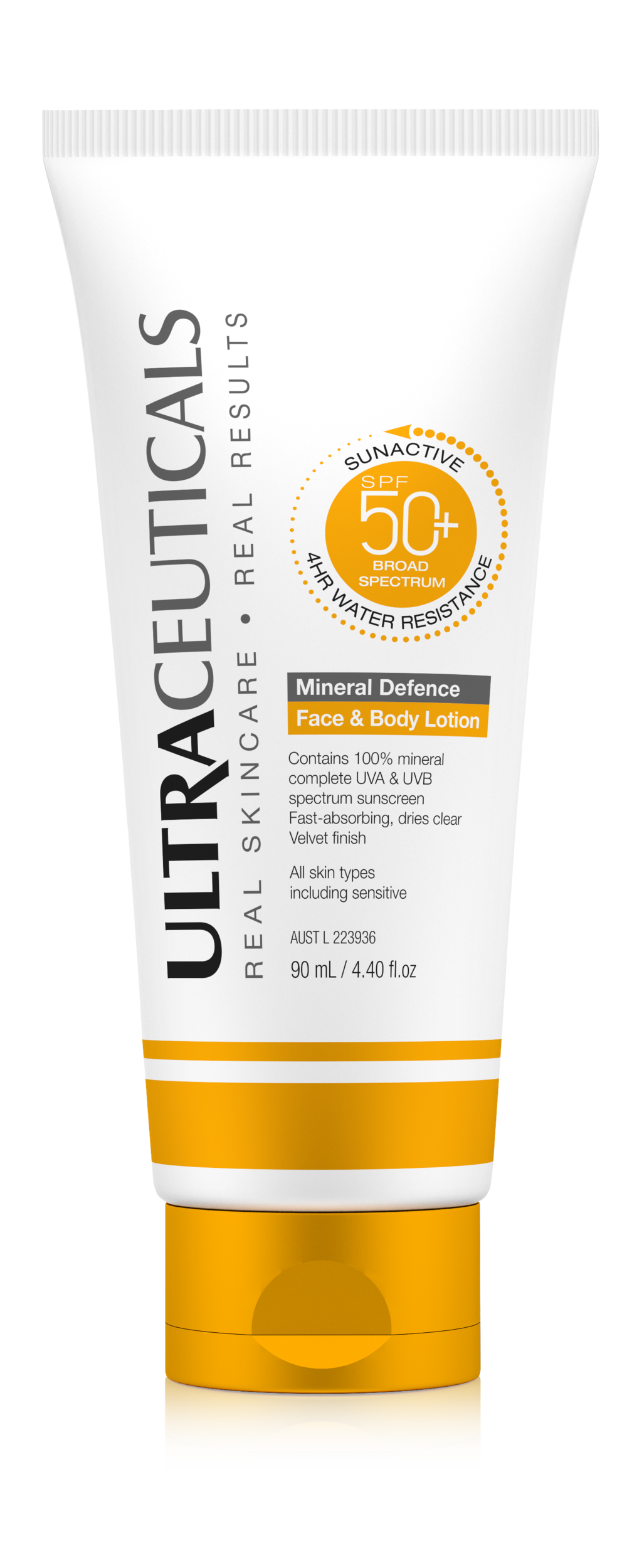 Ultraceuticals SunActive Mineral Defence Face & Body Lotion 90ml $69.png