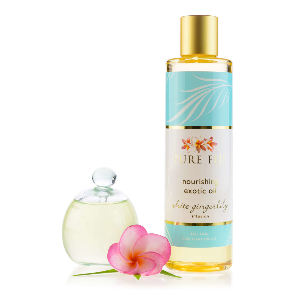 My summer must-have White Gingerlily Nourishing Exotic Oil.