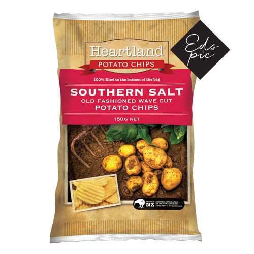 Heartland Potato Chips Southern Salt