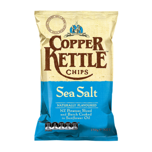 Copper Kettle Chips Sea Salt
