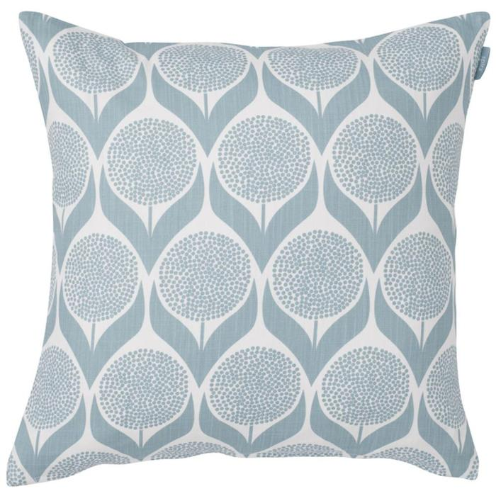 blue Blomma cushion, from Bolt of Cloth