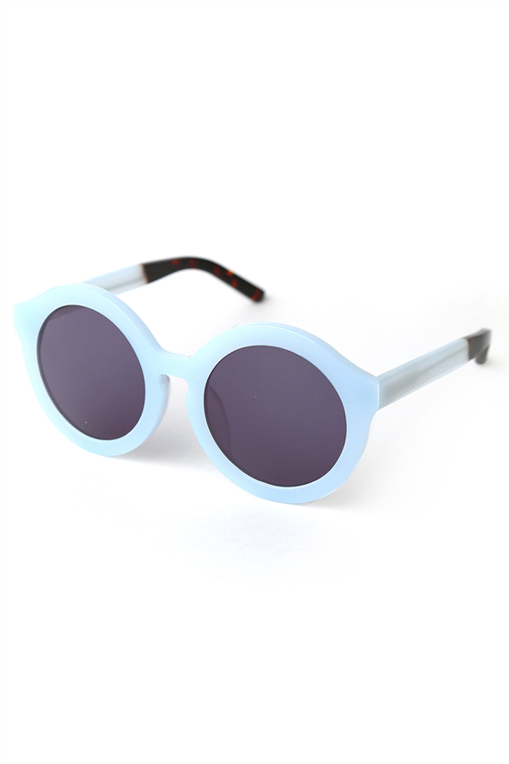 blue On Point sunglasses, by Trelise Cooper