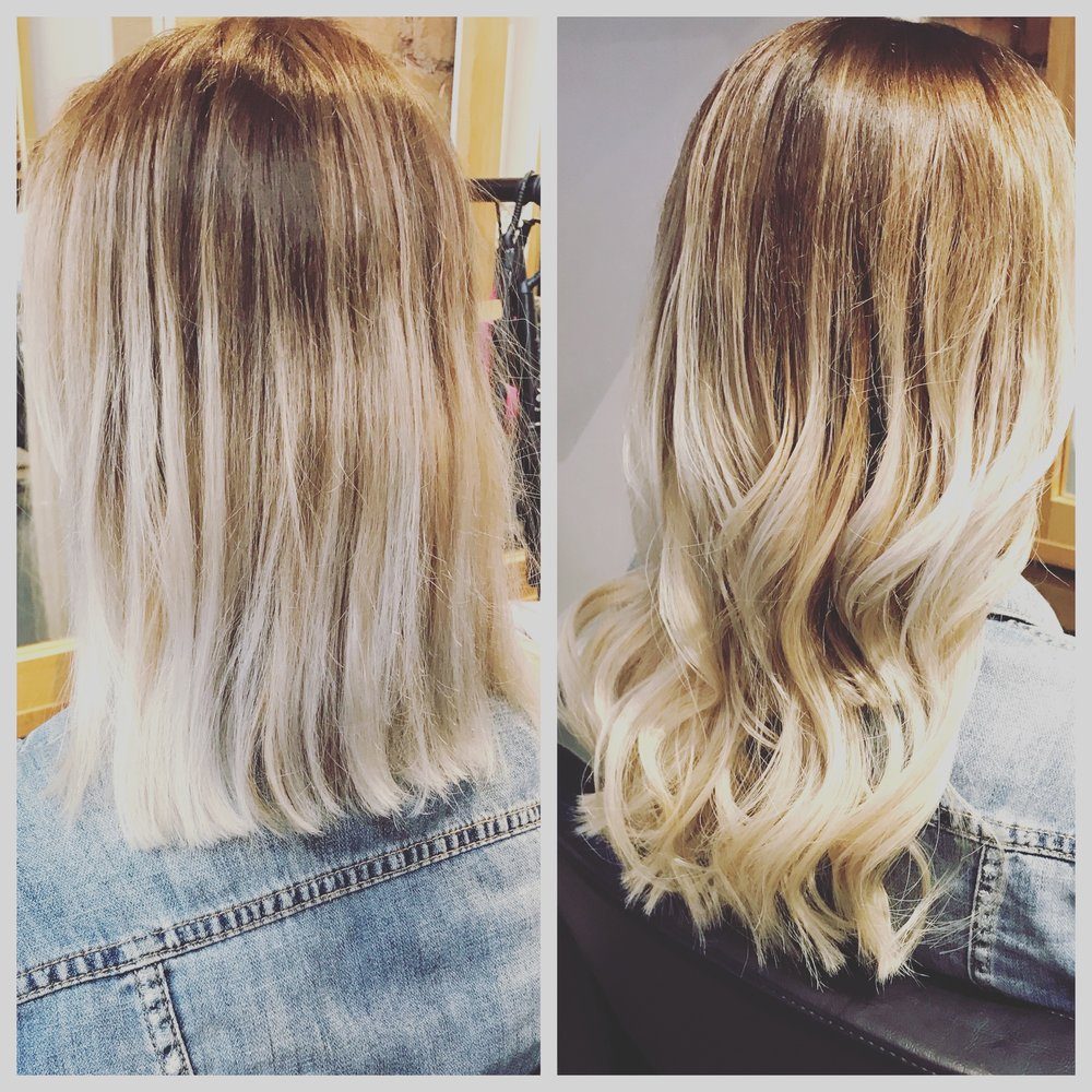 Hair extensions beautyeq before and after the transformation pmusecretfo Choice Image