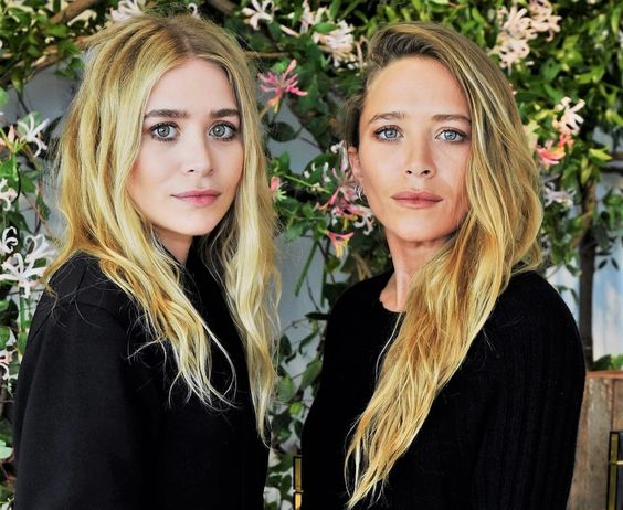 Image Instagram: The Olsen twins at their Nirvana Black fragrance launch.