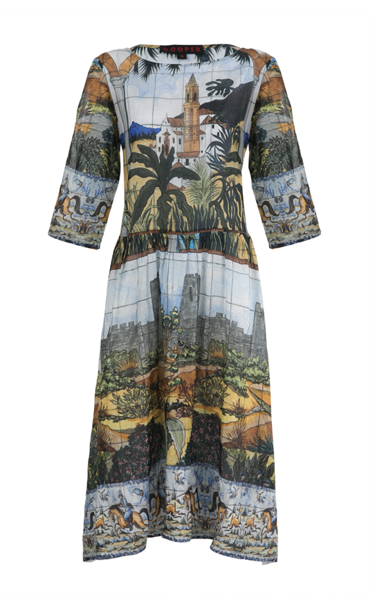 Cooper Castle On The Hill dress