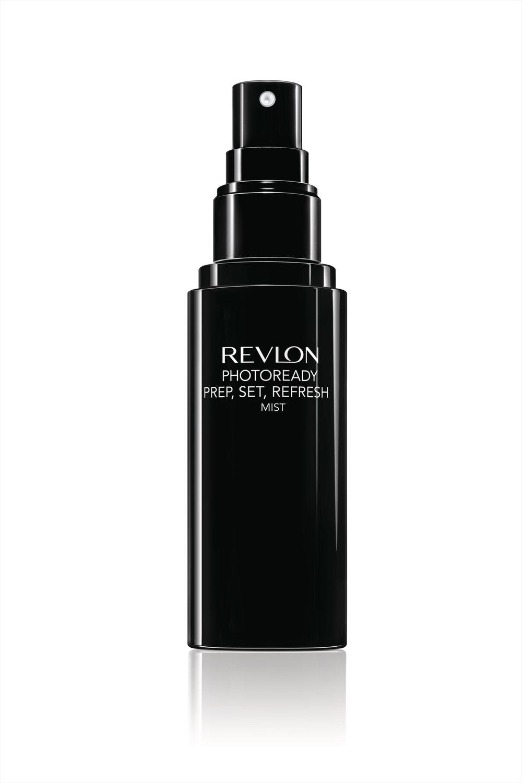 Revlon PhotoReady Prep, Set, Refresh Mist in black bottle