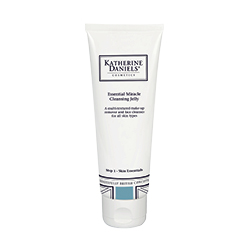 Katherine Daniels Essential Miracle Cleansing Jelly in a white bottle