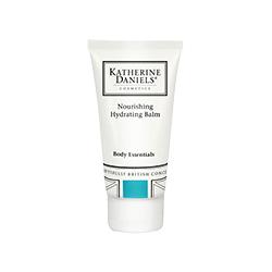Katherine DanielsBody Essentials Nourishing Hydrating Balm in a white bottle