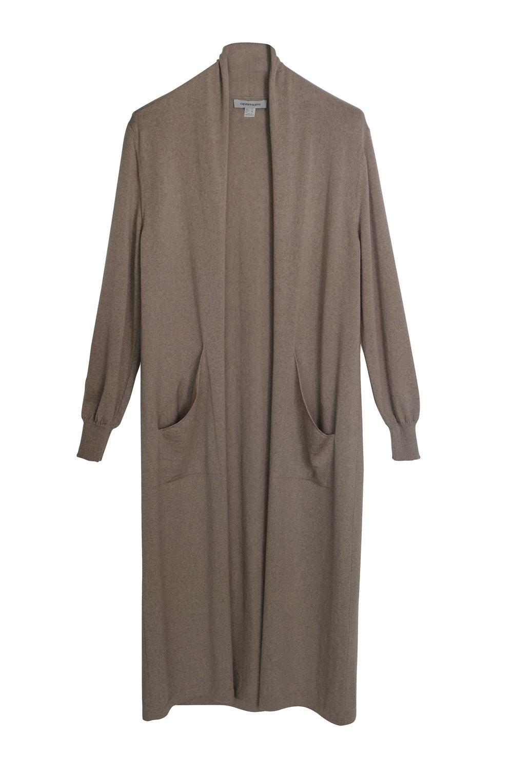 Optimum Knitwear   Duster, $375.