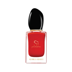 Armani  Si Passione EDP in red bottle with black lid