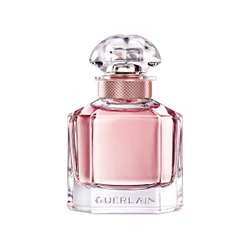 Guerlain  Guerlain Mon Guerlain Florale EDP in pink and clear bottle