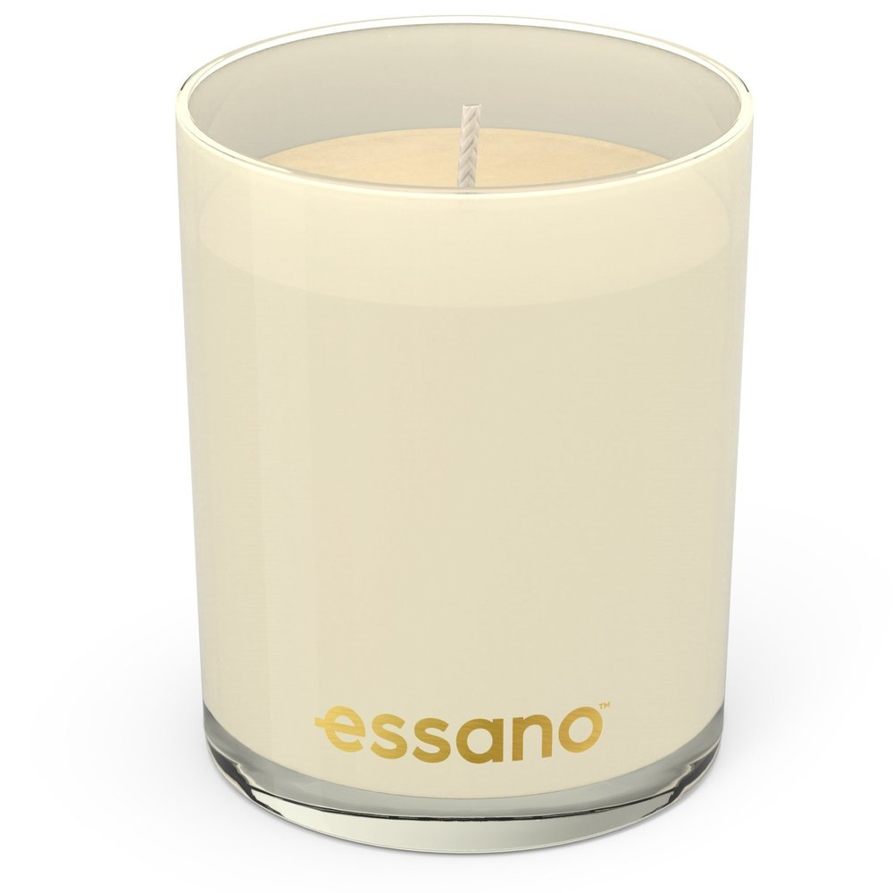 Essano Lotus Flower & Camellia Candle in cream colour without lid