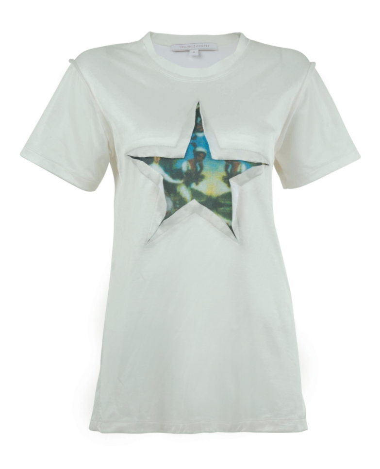 Trelise Cooper she's a star top white t-shirt
