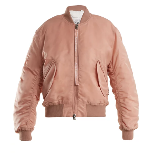 Acne StudiosClea bomber jacket in pink