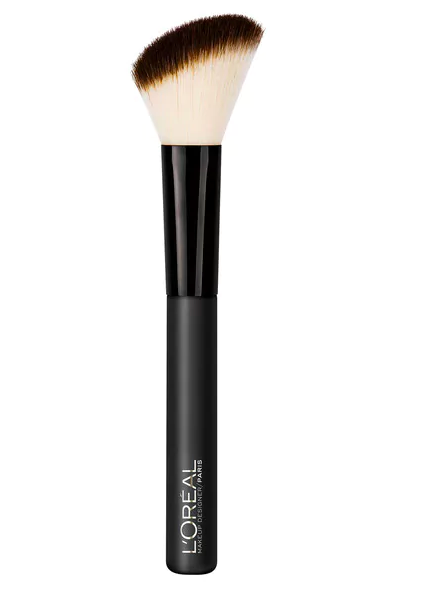 Black L'Oreal makeup brush with black tip