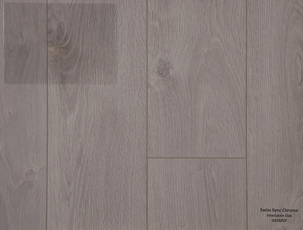 Swiss Sync Chrome Interlaken Oak Laminate