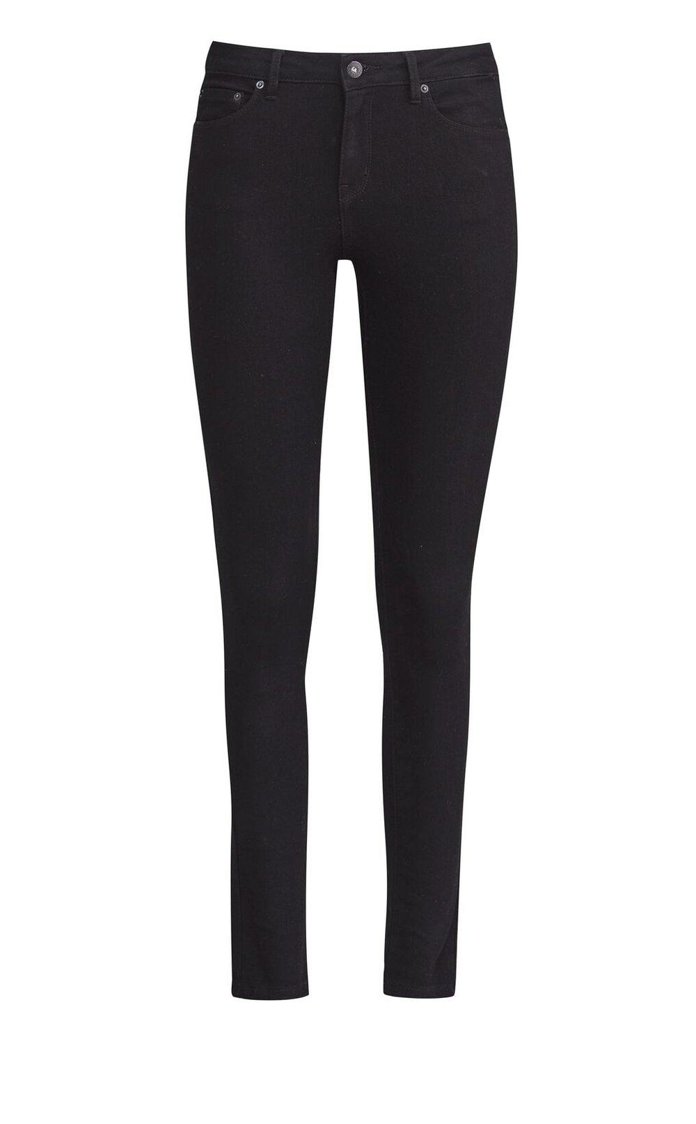 JH Denim  ankle skinny jean (denim) black rinse