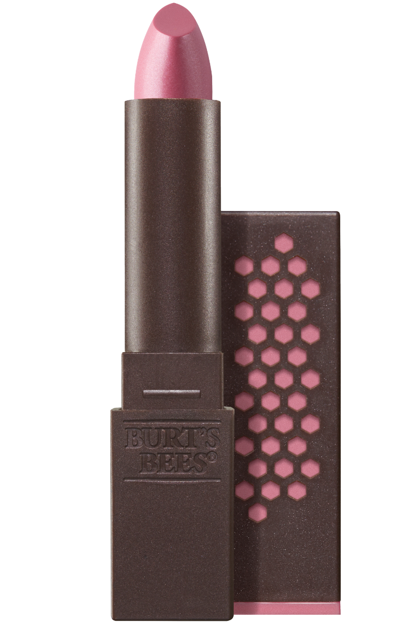 Burt's Bees glossy lipstick in pink pool