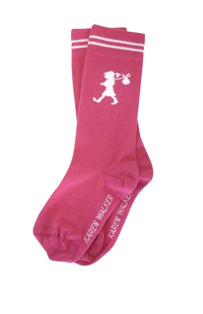 Karen Walker pink socks
