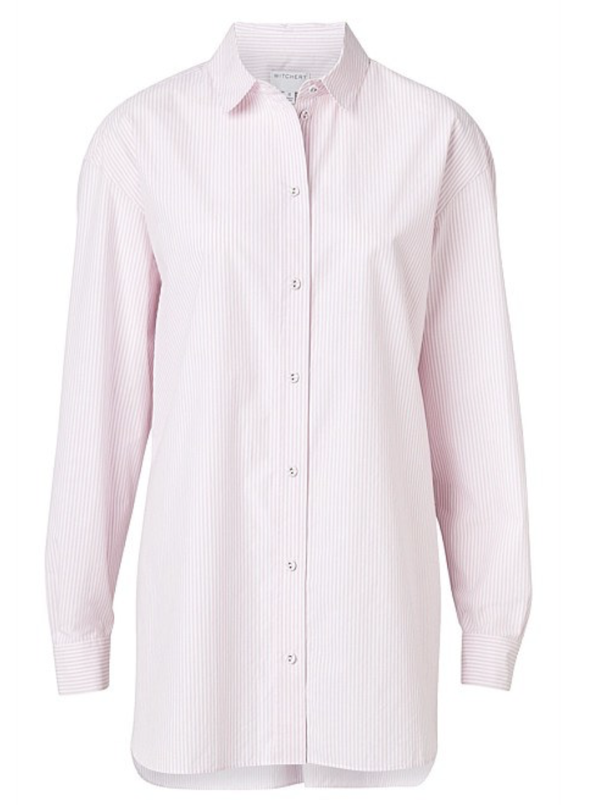 Witchery pink shirt