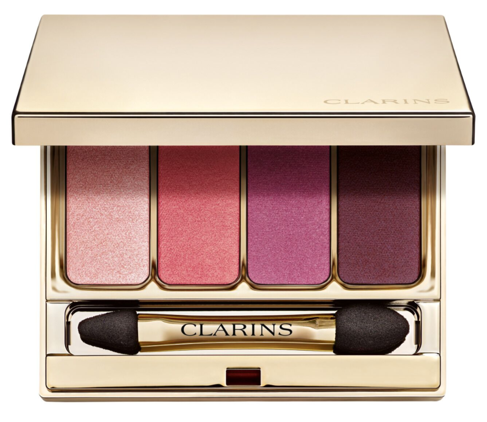 Clarins 4 Colour Eyeshadow Palette in No.7 Lovely Rose