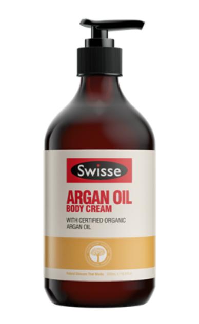 Swisse Argan Oil Body Cream