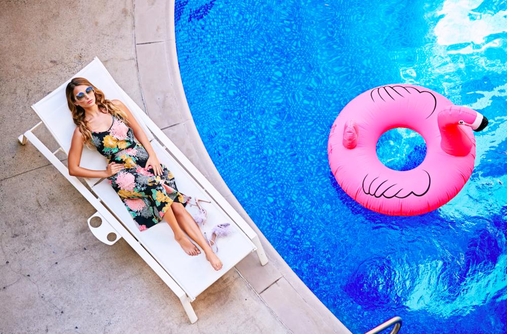 The pool at The Surfjack Hotel & Swim Club