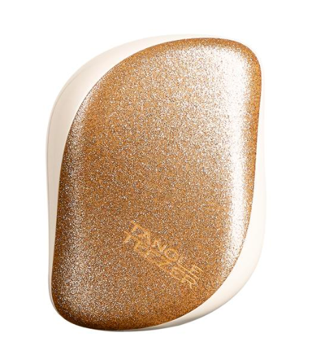 Tangle Teezer Compact Styler in Gold Glitter