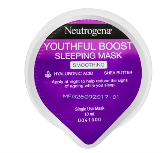 Neutrogena Youthful Boost Smoothing Sleeping Mask,