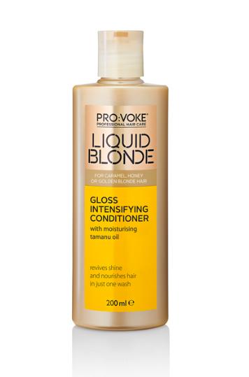 Pro:Voke Liquid Blonde Gloss Intensifying Conditioner,