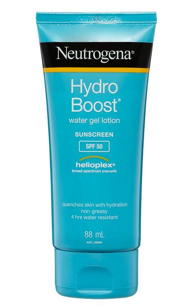 Neutrogena Hydro Boost Sunscreen, SPF50