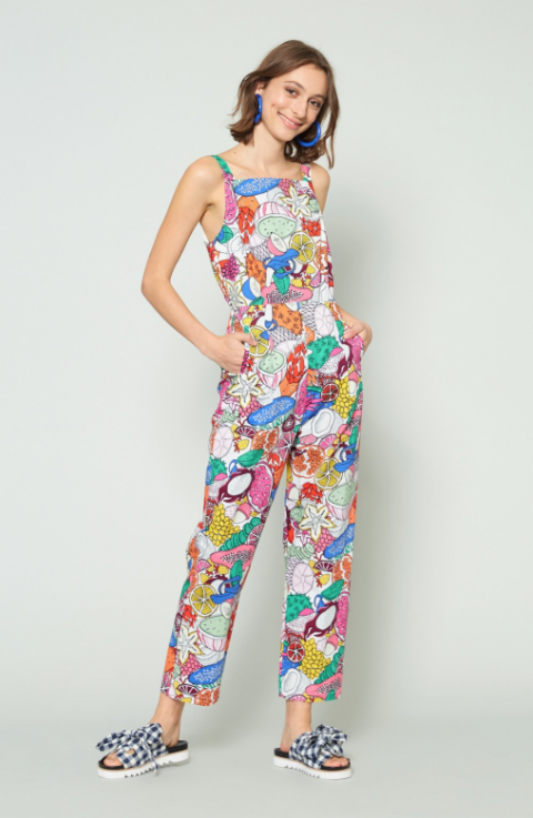 Gorman Fruit  Bowl pantsuit, $229.