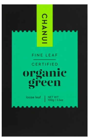 Chanui Organic Green Loose Leaf Tea