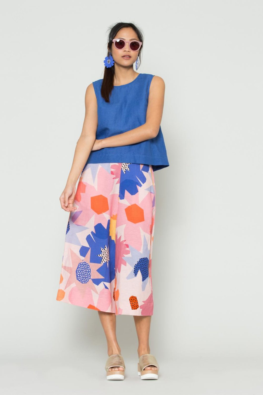 Gorman   Geo Linen culotte, $189.