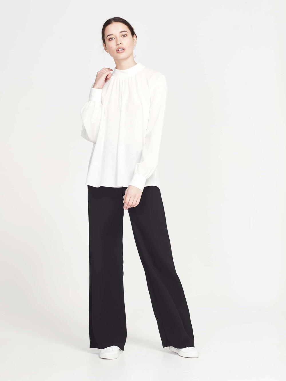 Juliette Hogan   Alice blouse, $349.