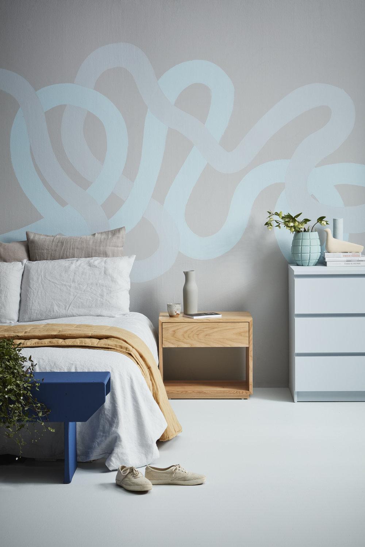 Gem Adams,blue,bedroom,Resne Grey Seal+White Island+Remember Me+Mystery+Bewitched+Unwind+Grey Area+Slipstream,photo Wendy FenwickPT.jpg
