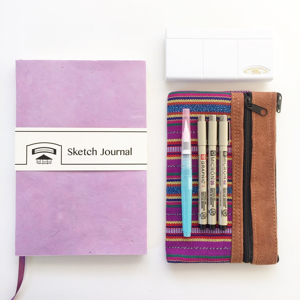 JOURNAL  SETS  inspired  from GUATEMALA  trip