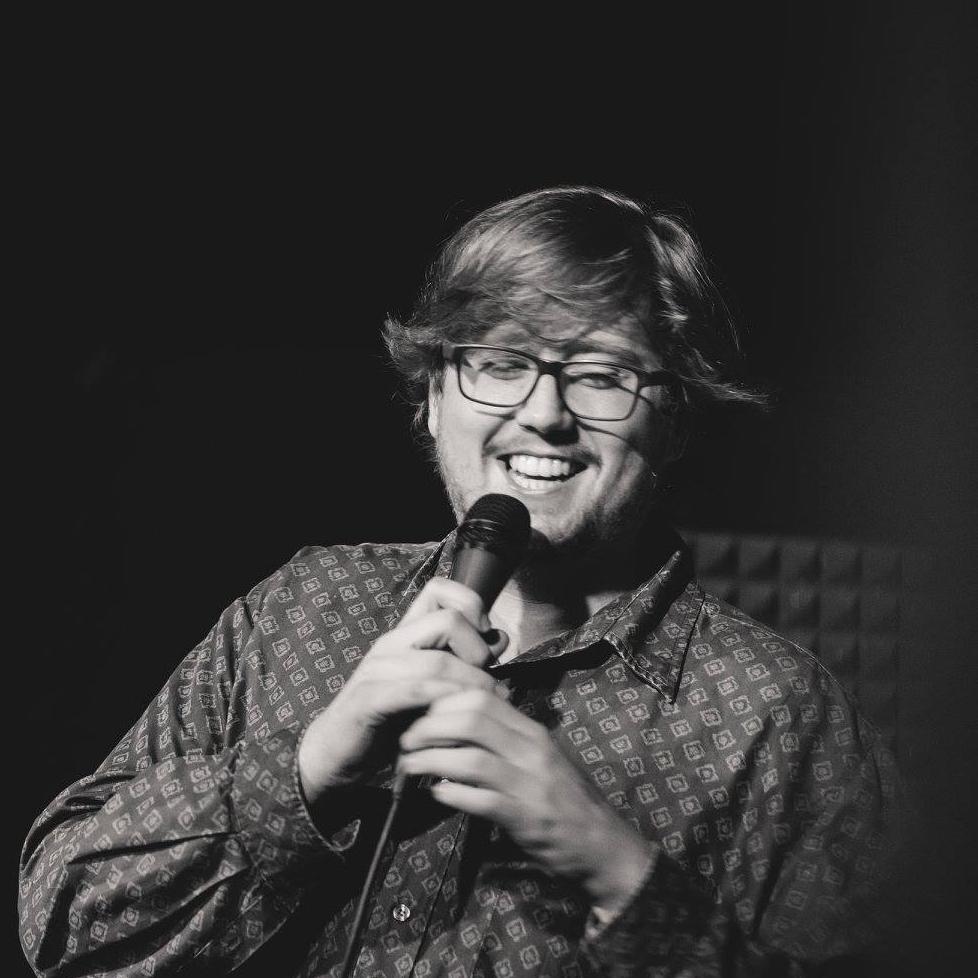 Ian Erickson - Ian has opened for headlining comedians such as Ian Edwards, Nick Thune, and Rory Scovel. In the past year, he has performed in the Cream City, Flyover, and Floodwater Comedy Festivals. In addition, he is a producer for the local VHS Comedy show.