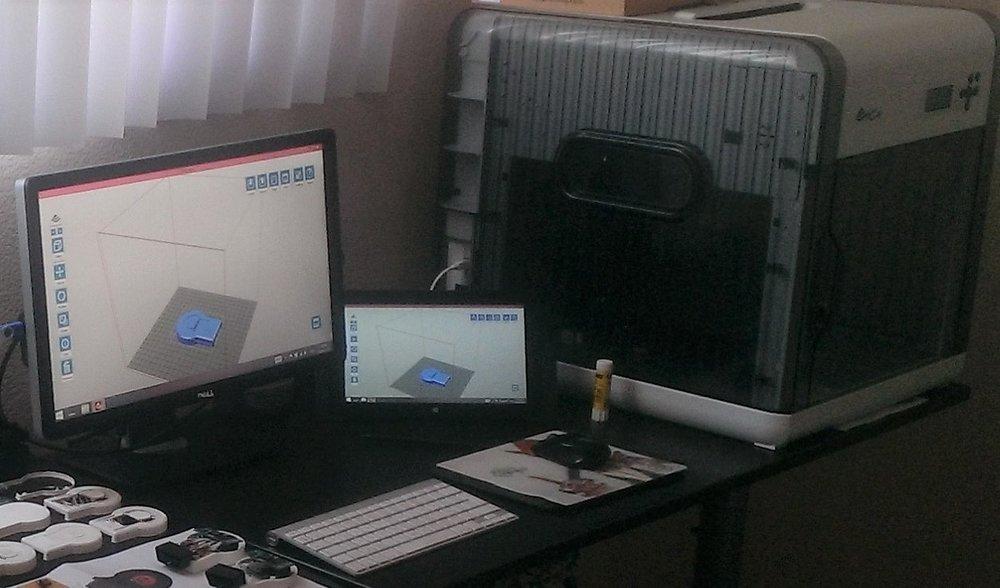 Prototypes 3D printing
