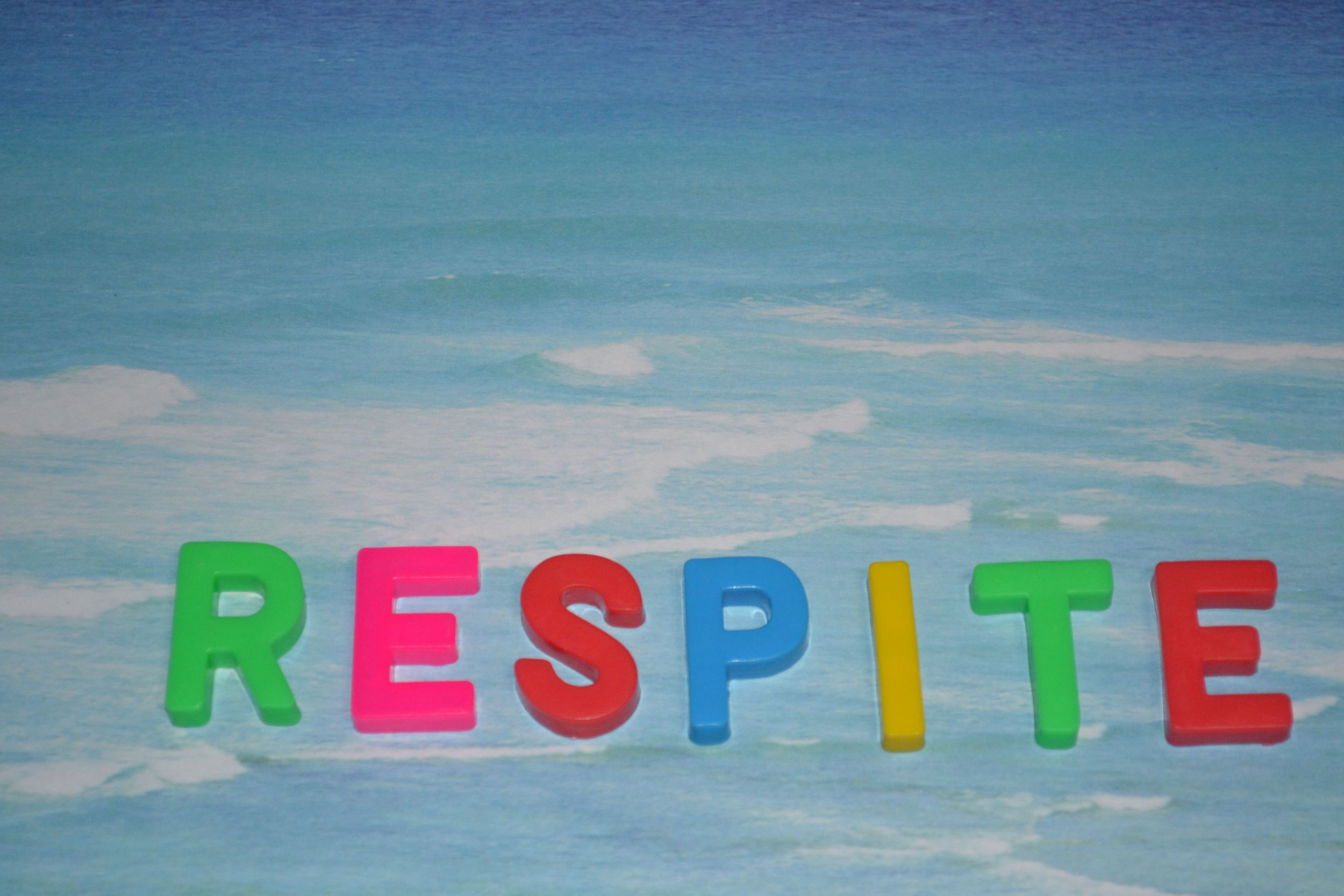 Respite - a short period of rest or relief from something difficult