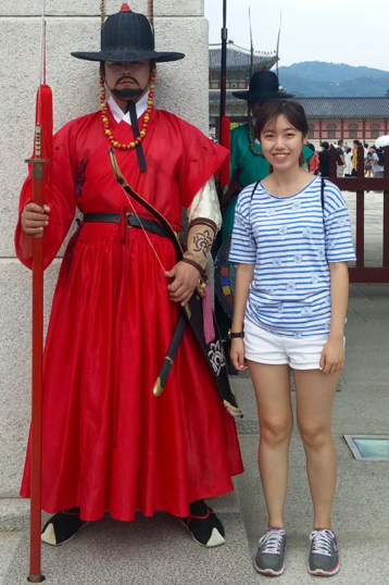 """""""What an experience in Korea! From feeling awkward and strange in a foreign land, to finding certain antics interesting and funny, to actually liking those certain antics and finally missing them after returning to Singapore. I would definitely recommend any SIM GE student to go for the Summer Abroad Program."""" - Geraldine Wong, University of London"""