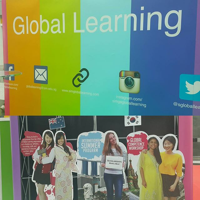 Come& talk to our friendly staff & summer scholars to find out all about Summer Abroad,  Service Learning Project,  Winter Abroad and many more!! You can find us @ Lvl2 Atrium!  Look for Global Learning Booth! Booth till 30th Sept (10am-4pm)!☺