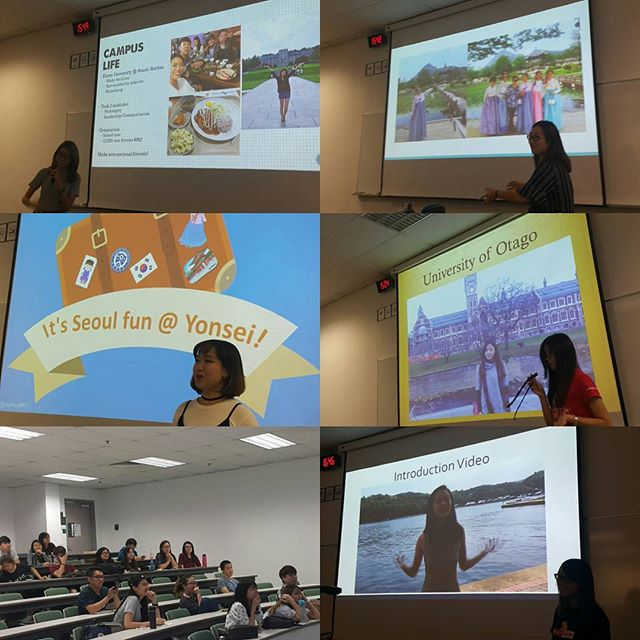 Thank you to our Scholars for sharing your Summer Abroad experience,  Service Learning Experience and the upcoming TEDx info!  Missed our student sharing session? Come talk to us@our booth!  Booth happening till 30th Sept Friday (10am-4pm)☺