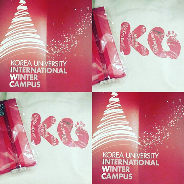 How about spending this Christmas in a winter wonderland of Seoul Korea? Come and join us for Korea University's Winter Abroad session!  Date:28th October 4pm-6pm Venue: B2.07  There's many pretty gifts such as KU bags , stationery and snacks to give away!  Come with your friends😊😊