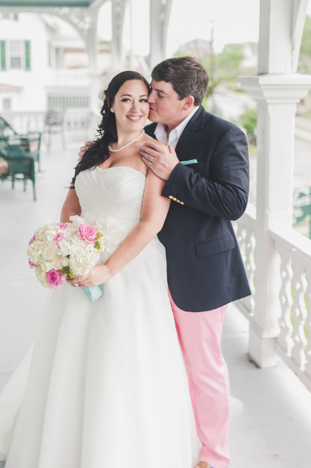 Finally Married - Chalfonte Hotel Wedding Cape May, NJ